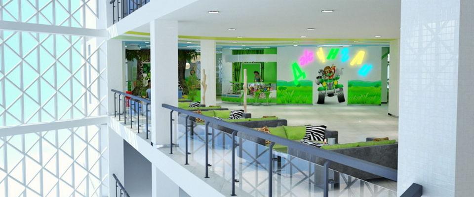Дизайн торговых центров